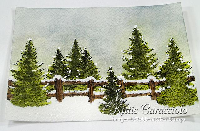 12KC 12 Tree Tip Snow
