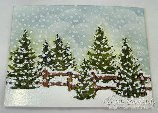 13 KC 13 Falling Snow