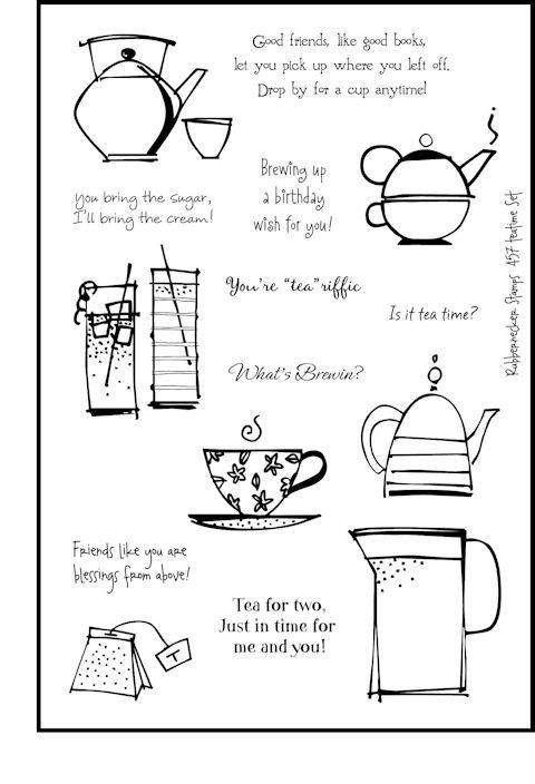 457 Teatime set